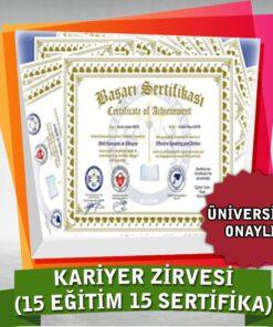 Kariyer Paketi (15 Eğitim+15 Sertifika)